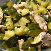 Salade courgettes dinde recette cookeo |
