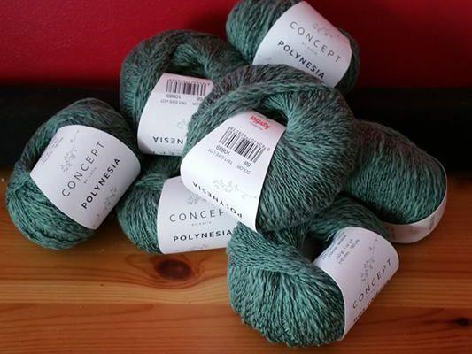Rencontre entre un modèle de pull et un coloris de fil