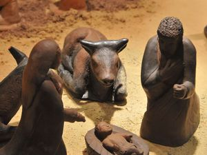 crèches d'Egypte, Mali, Madagascar, Ethiopie.