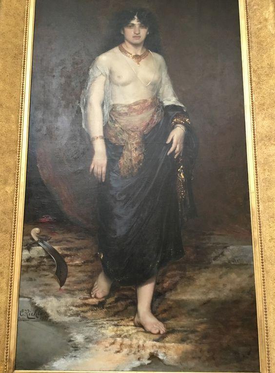 Edouard Richter (1844-1913), Judith, 1877, Huile sur toile