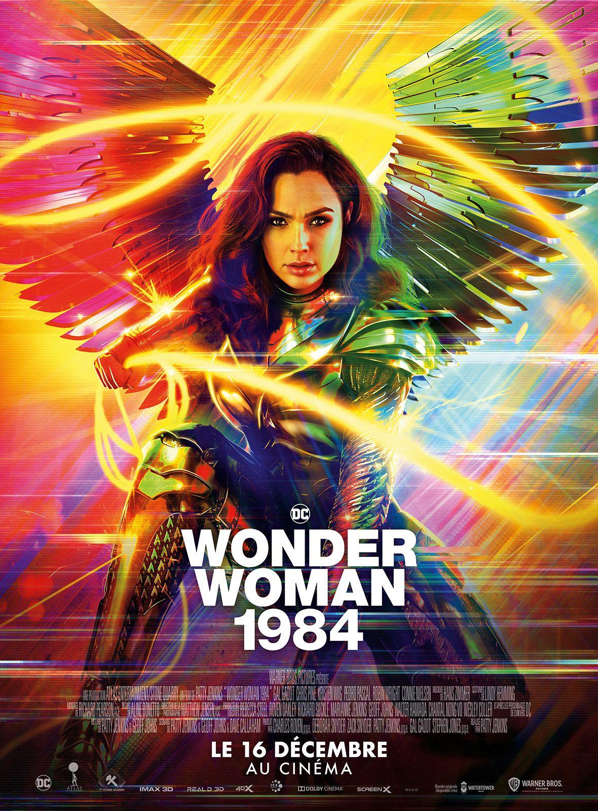 Wonder Woman 84 (*** 1/2 *)