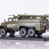 SSM1136 Fire engine AC-40(ZIL-131), military /khaki/
