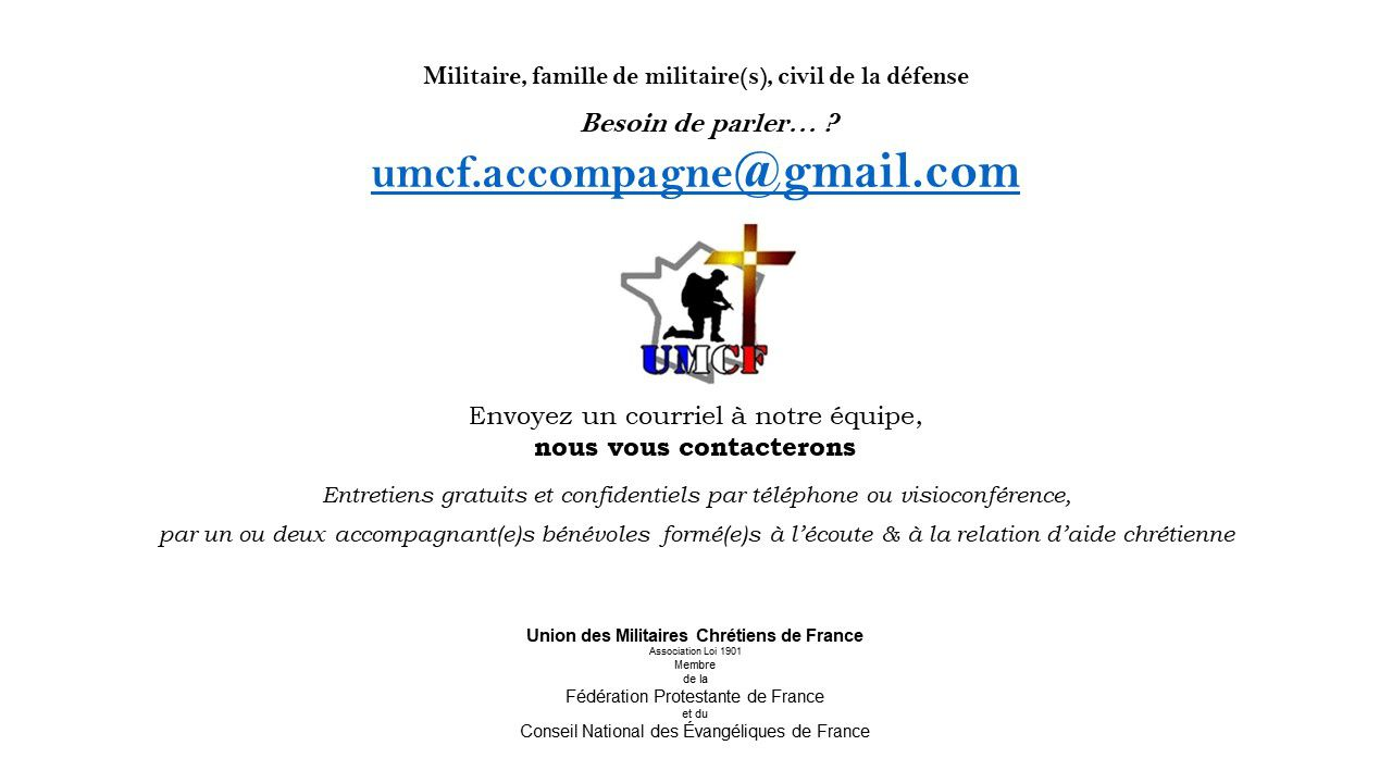UMCF accompagne, une relation d'aide.