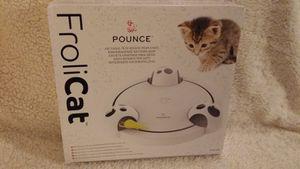 Pounce, jeu casse tête rotatif pour chats