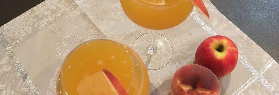 Cocktail au cidre façon Sangria