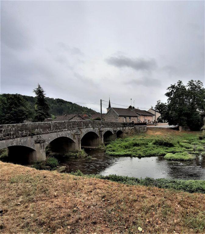 En Haute-Saône, de Leffond à Champlitte.