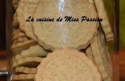 Biscuits sablés aux épices