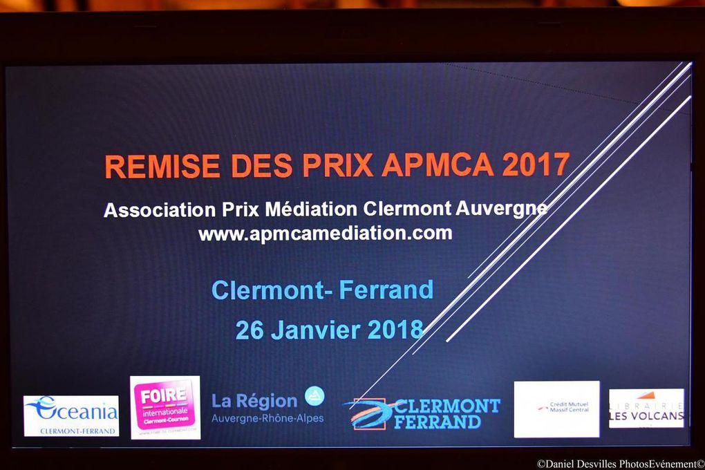 La soirée de remise des Prix en Médiation APMCA 2017 en photos , rien que pour vous  !