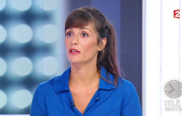 TANIA YOUNG @telematin @France2tv ce matin #vuesalatele