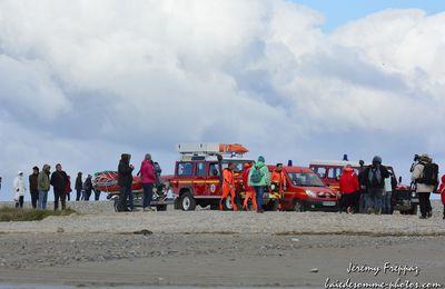 Cayeux sur mer 25 personnes prises au piège en Baie de Somme