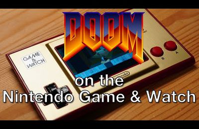 Le Game & Watch Super Doom Bros