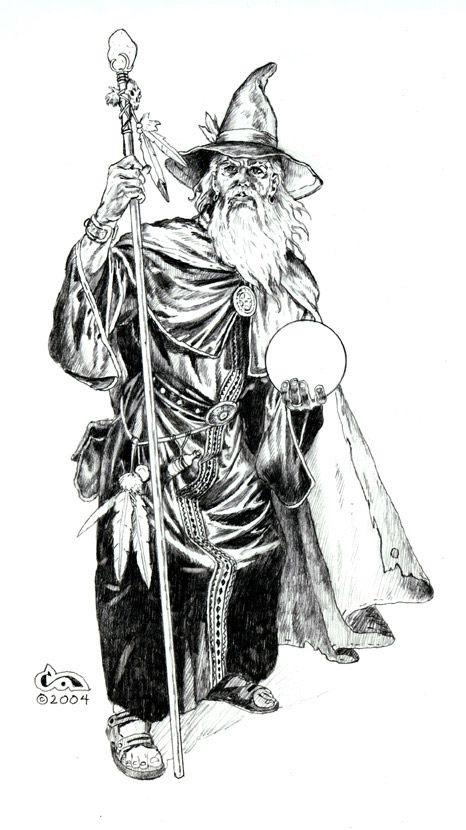 Clyde Caldwell en noir et blanc