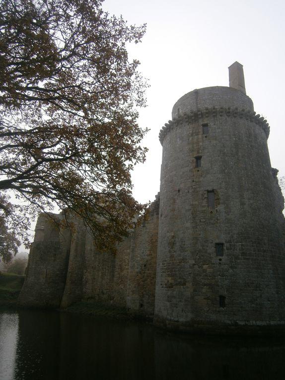Le château de La Hunaudaye