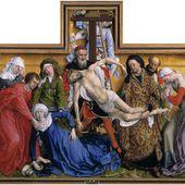 Rogier van der Weyden - La Descente de Croix - LANKAART