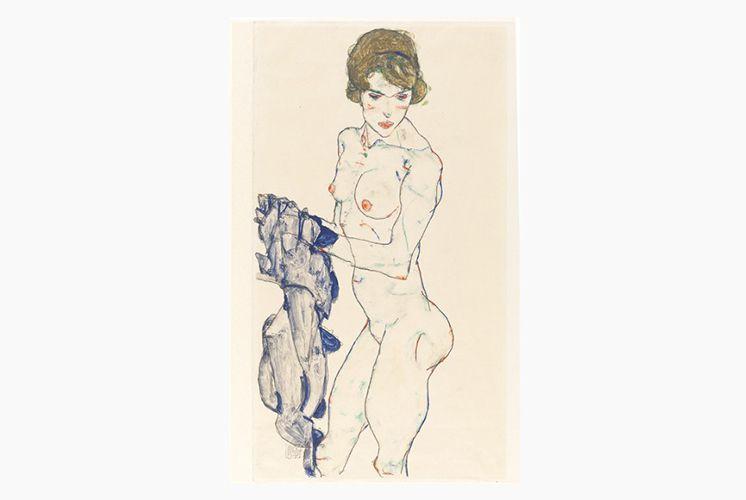 Egon SCHIELE / PEINTRE AUTRICHIEN / ARTS PLASTIQUES