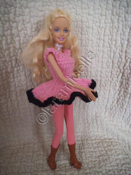 tuto gratuit barbie: robe  dansante