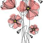 Poppies free embroidery design 10