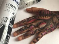 Challenge artiste make-up collaborations avec SkkkArt