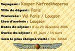 Kaaper en Egypte - Programme du voyage à la carte de 2006