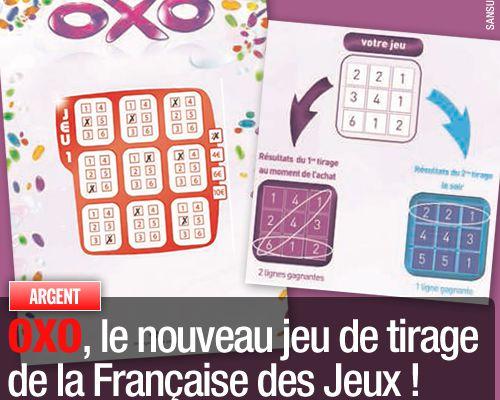 OXO, le nouveau jeu de tirage de la Française des Jeux !