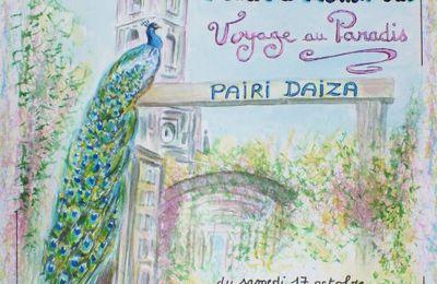 LES REMISES DE PRIX DE NOTRE EXPOSITION SUR PAIRI DAIZA .
