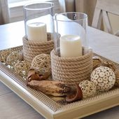 DIY Candle Holders {tutorial} - Four Generations One Roof