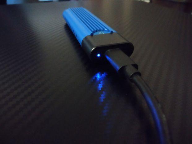 test du disque dur SSD externe nomade à interface USB type C - BleuJour eSSD @ Tests et Bons Plans