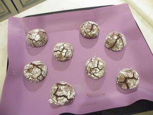 Biscottis au chocolat