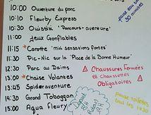 Sortie Parc Le Fleury - Voltaire mat. (29 juillet)