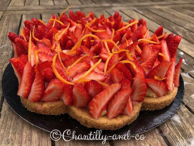 tarte aux fraises de Nicolas Paciello
