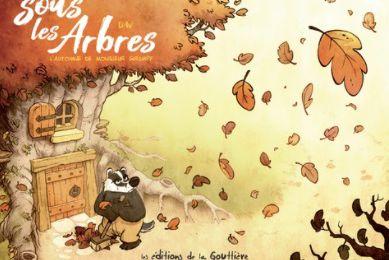 Dav, Sous les arbres, L'automne de Monsieur Grumpf, La Gouttière, 2019