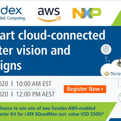 Webinar: Jumpstart cloud-connected computer vision and ML designs