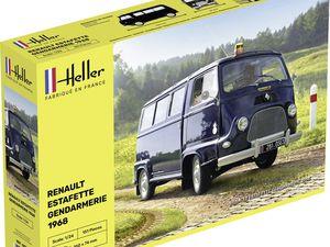 Renault Estafette 1/24 HELLER par Glow2B
