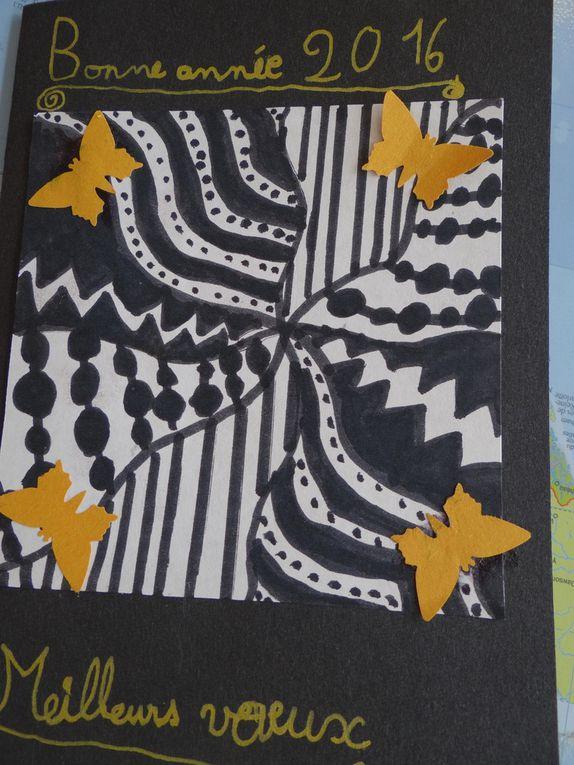 Cartes de voeux CE2 galerie photos