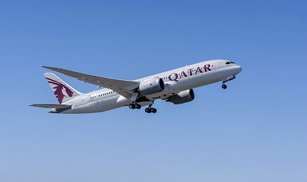 aerobernie qatar airways doeing 787 dreamliner 2014 @The Boeing Company