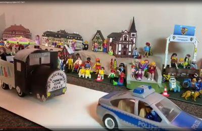 VCC erstellte digitalen Rosenmontagszug 2021 mit Playmobil und Michl Müllers Faschingsknaller des Vorjahres