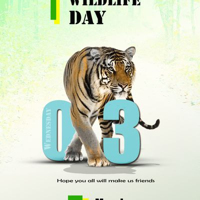 World Wildlife Day 2021 to all the environmentalists.