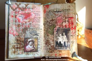 Beautiful Memories_Livre Altéré_Mixed Media