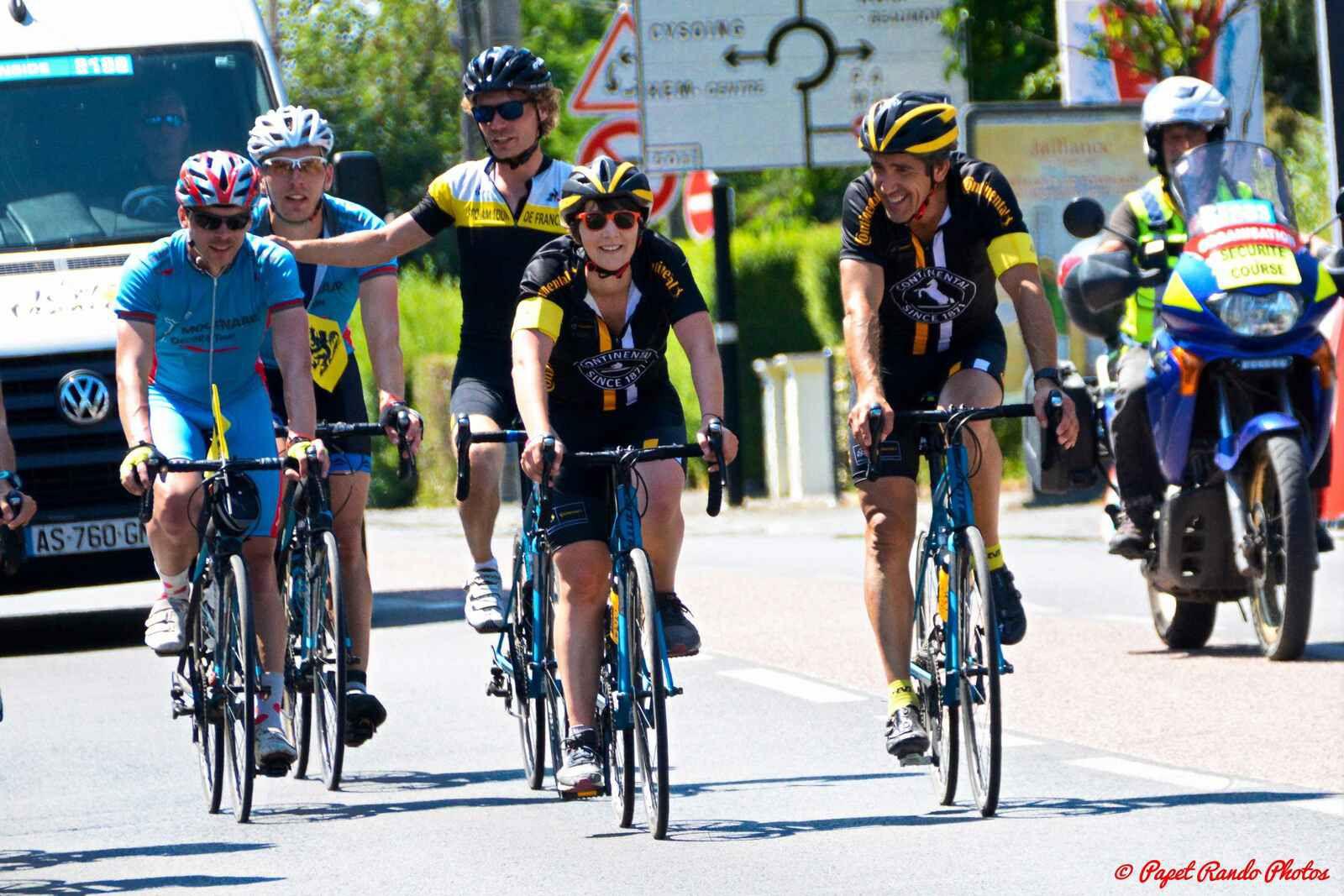 Le Tour de France dans les paves de Roubaix