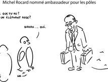 Michel Rocard nommé ambassadeur pour les pôles