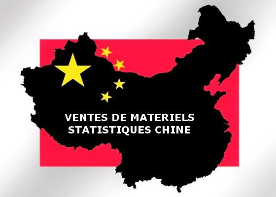 """CHINE: statistiques 2019/2020 """"camions miniers hors route"""" neufs."""