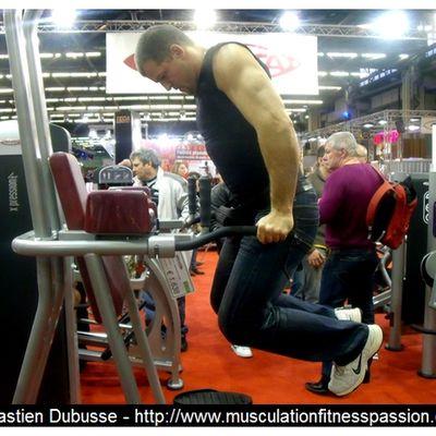 Musculation avec les dips et les tractions, Sébastien Dubusse, blog musculationfitnesspassion