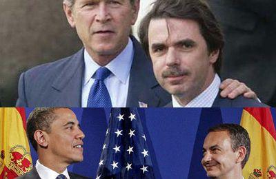 Le PCE met sur le même plan la politique étrangère de Zapatero et celle d'Aznar tout en construisant la mobilisation pour exiger le retrait des troupes espagnoles d'Afghanistan