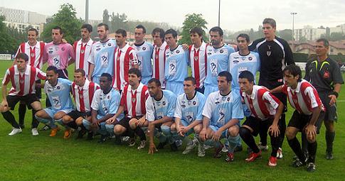 Mercredi 14 Mai 2008 : Signature du partenariat entre l'Aviron Bayonnais FC et l'Athletic Club Bilbao