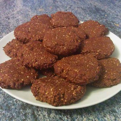 Biscuits fondants au Chocolat & Noisettes