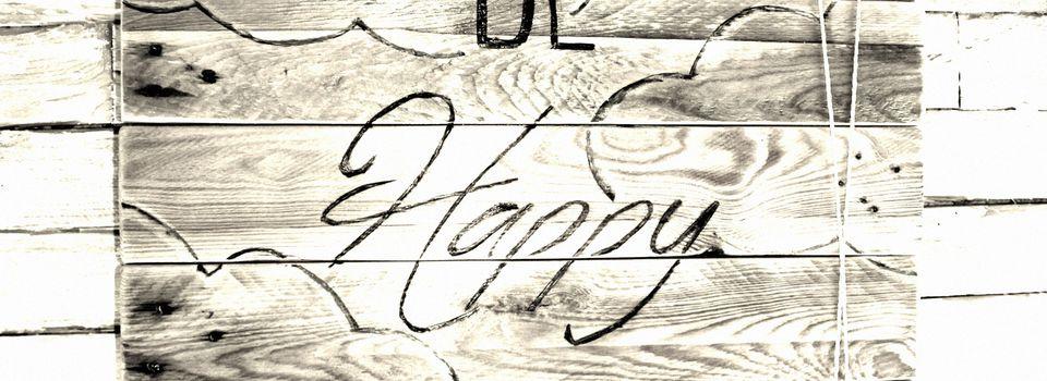 Palett'BE HAPPY