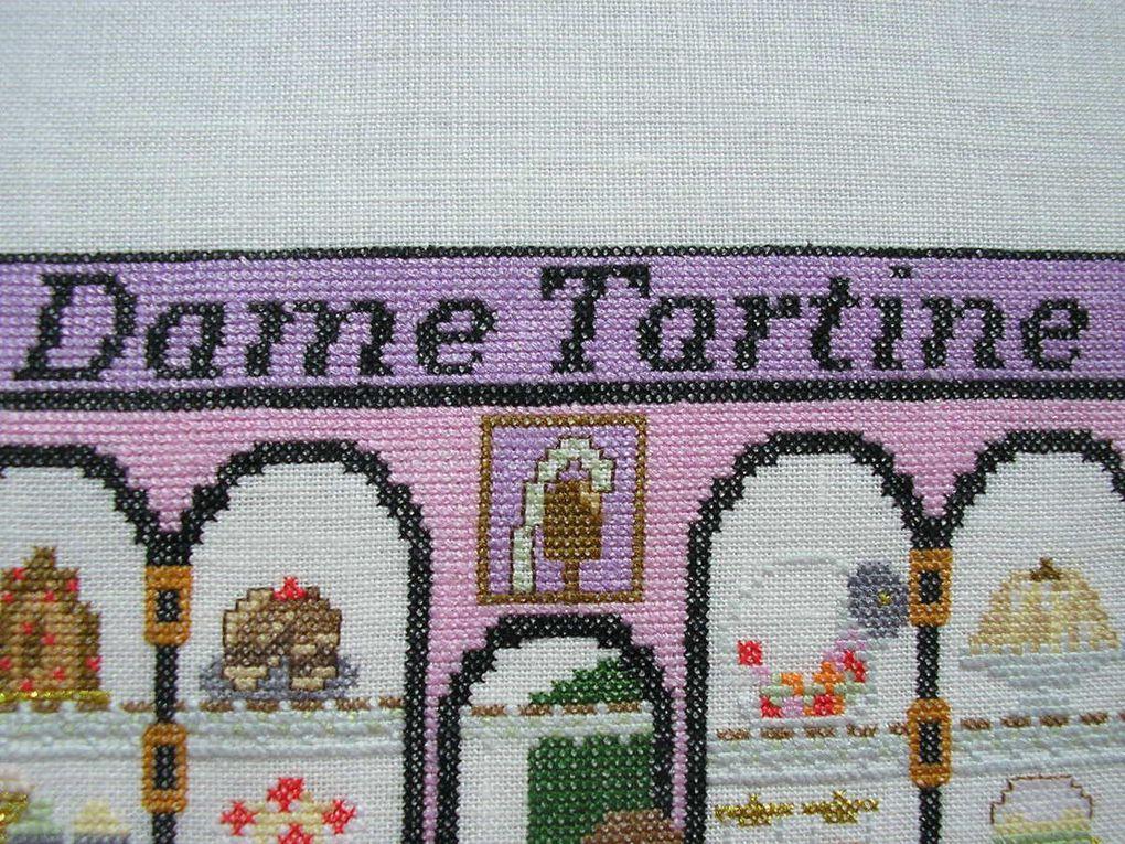 """Dame Tartine"" D'un fil à l'autre"