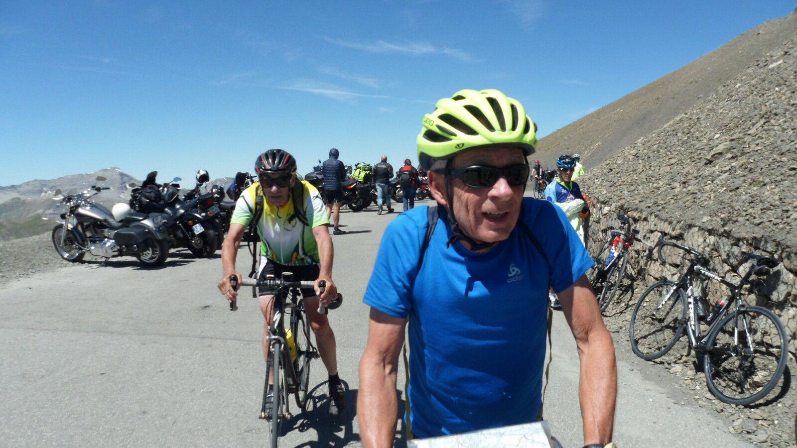 Séjour Barcelonnette -Col de la Bonnette (2715m 2802m) Jeudi 1 Juillet 2021