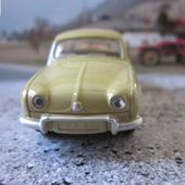 RENAULT DAUPHINE 1956 NOREV RENAULT TOYS 3 INCHES - car-collector.net