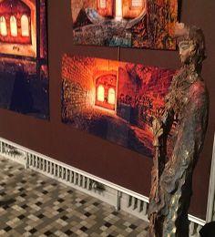 C'est fini. Mais il reste quelques traces au portable de la superbe exposition Danièle Vogler et Olyy Strange au CCMQ